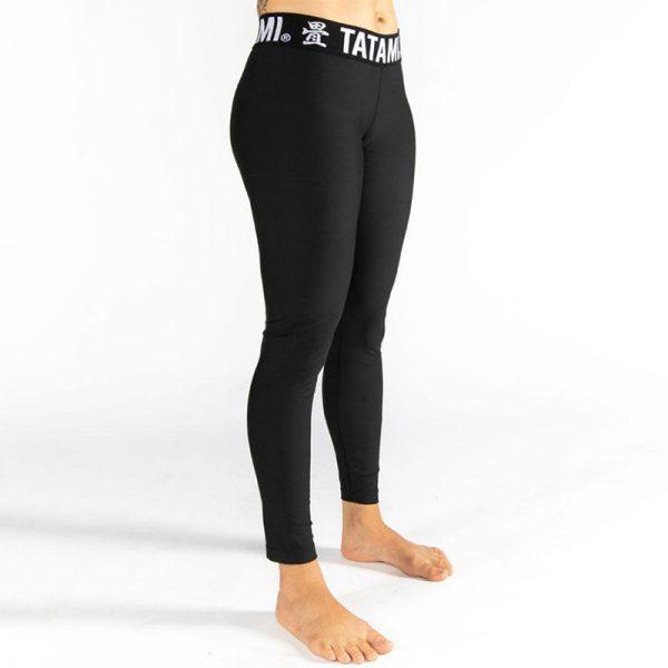 tatami ladies grappling spats black 2