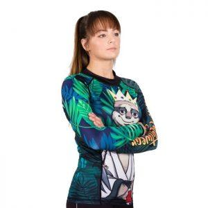 tatami ladies rashguard king sloth 2
