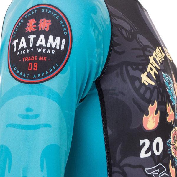 Tatami Rashguard Dia De Los Muertos 7
