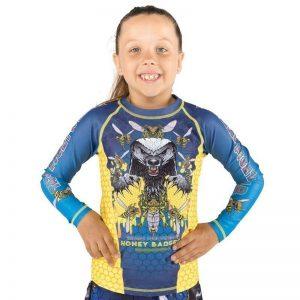 Tatami Rashguard Kids Honey Badger V5