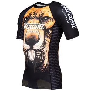 tatami rashguard lion 3 1