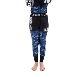 Tatami Spats Kids Essential Camo blue