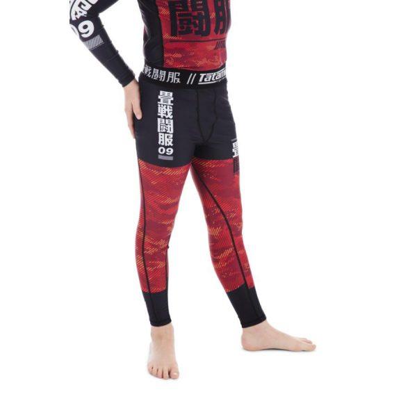tatami spats kids essential camo rod 2