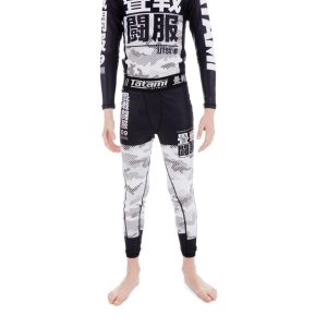 Tatami Spats Kids Essential Camo white