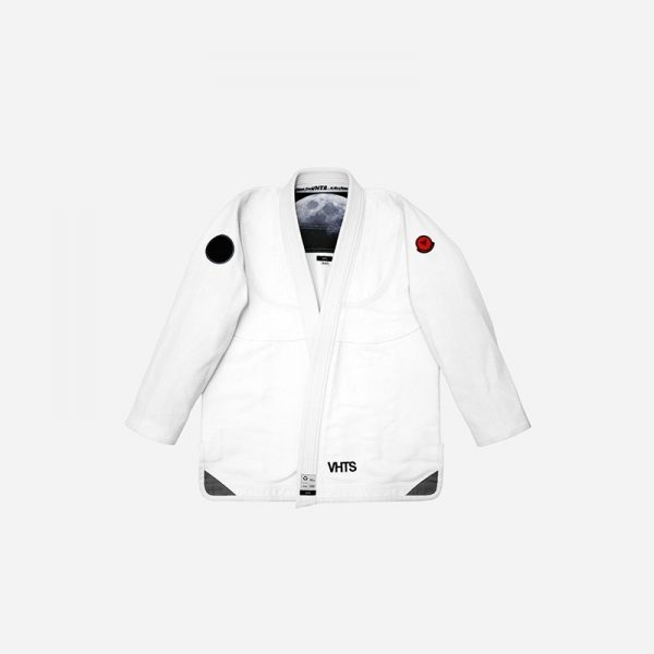 VHTS BJJ Gi White Moon