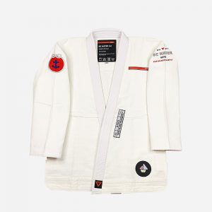 VHTS BJJ Gi Be Water white