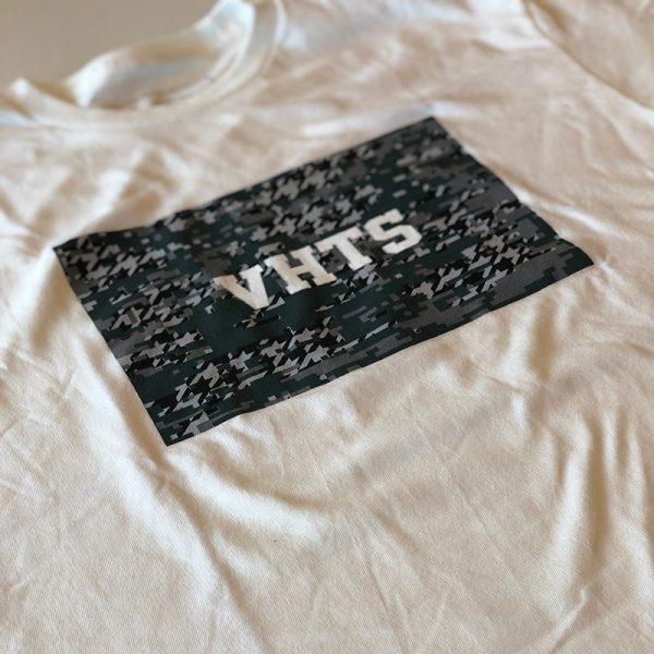 VHTS T-shirt Camo Box Logo