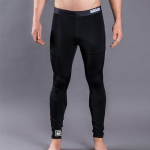 Scramble Grappling Spats All Black
