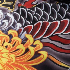 eng pl manto x krazy bee fight shorts dragon black 1217 7