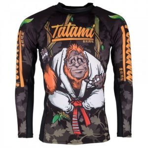 Tatami Rashguard Hang Loose Orangutang