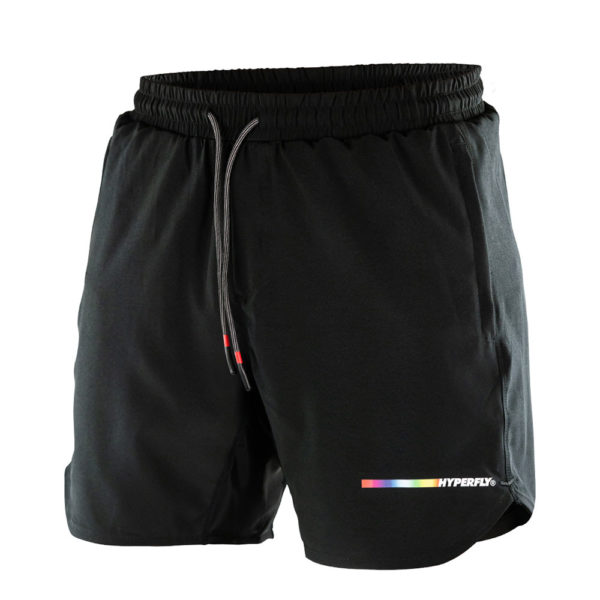 hyperfly athletic shorts icon black 1