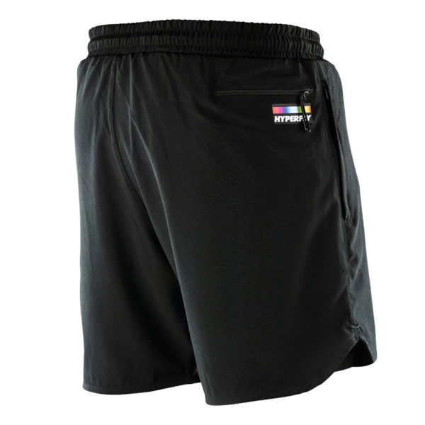 hyperfly athletic shorts icon black 3
