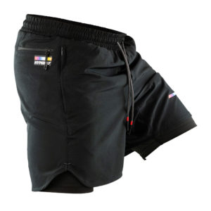 hyperfly athletic shorts icon black 4