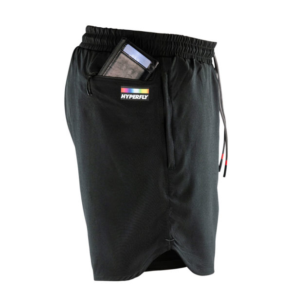 hyperfly athletic shorts icon black 6