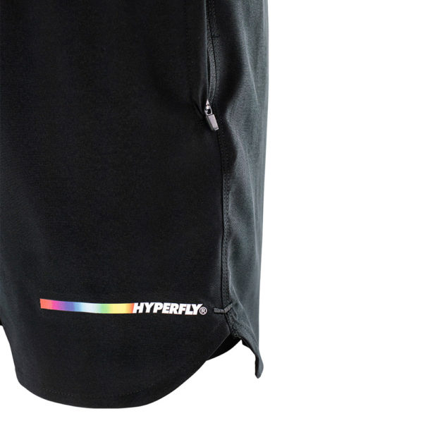 hyperfly athletic shorts icon black 9