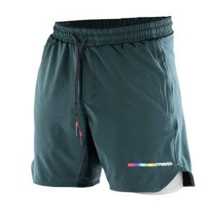 hyperfly athletic shorts icon grey 1
