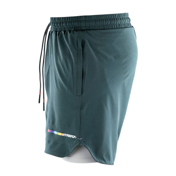 hyperfly athletic shorts icon grey 2