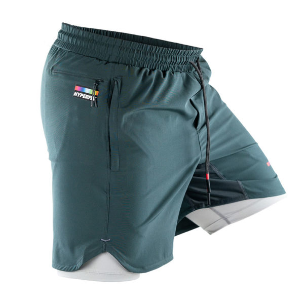 hyperfly athletic shorts icon grey 4