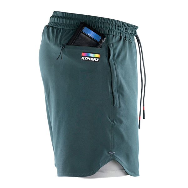 hyperfly athletic shorts icon grey 6