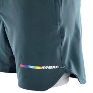 hyperfly athletic shorts icon grey 9