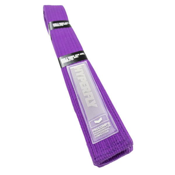hyperfly bjj belt procomp purple 2
