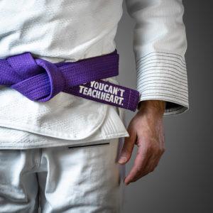 hyperfly bjj belt ycth comp purple 2