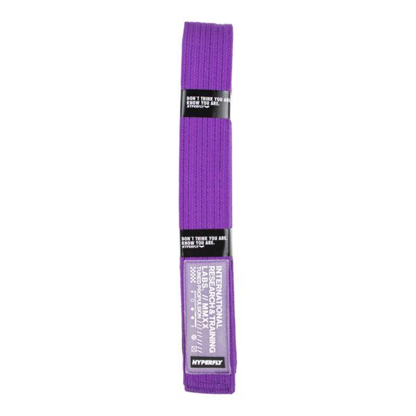 hyperfly bjj belt ycth purple 1