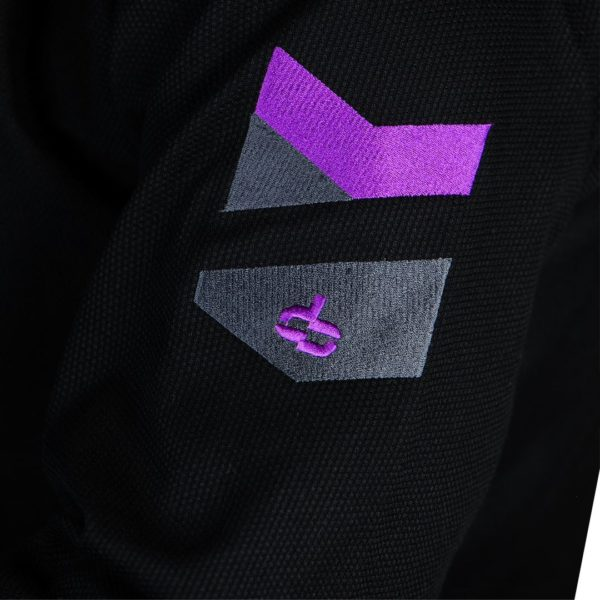 hyperfly bjj gi hyperlyte 2 0 black purple 2