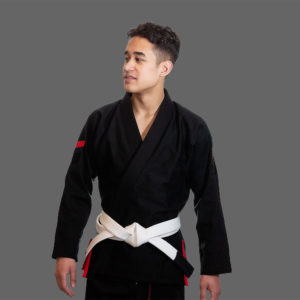 hyperfly bjj gi hyperlyte 2 0 black red 1a