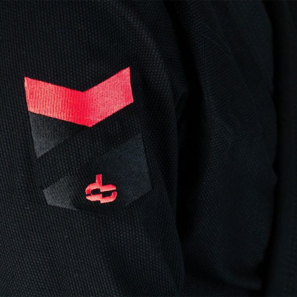 hyperfly bjj gi hyperlyte 2 0 black red 2
