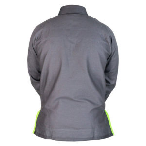 hyperfly bjj gi hyperlyte 2 0 grey matrix green 2