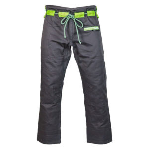 hyperfly bjj gi hyperlyte 2 0 grey matrix green 6