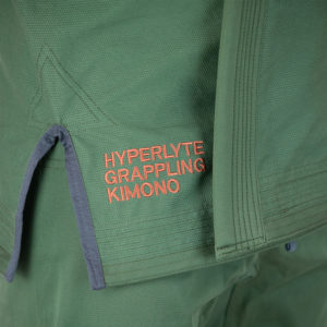 hyperfly bjj gi hyperlyte 2 5 olive copper 4