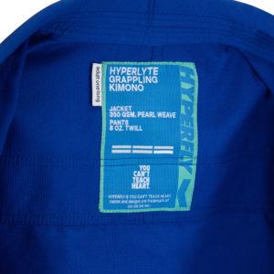 hyperfly bjj gi hyperlyte 2.5 blue turquoise 8