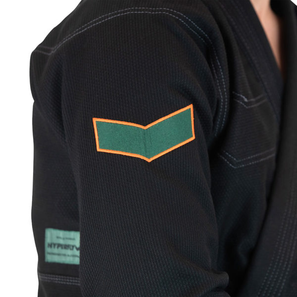 hyperfly bjj gi icon 2021 black 2