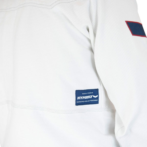 hyperfly bjj gi icon 2021 white 3