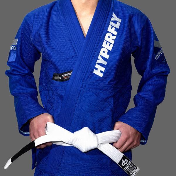 hyperfly bjj gi judofly x 2 blue 3 1