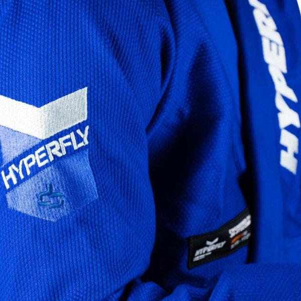 hyperfly bjj gi judofly x 2 blue 3