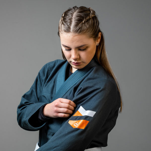 hyperfly bjj gi ladies hyperlyte 2.0 teal 3