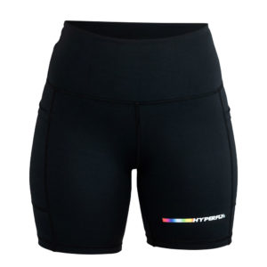 hyperfly flygirl athletic shorts 2.0 black 1