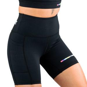 hyperfly flygirl athletic shorts 2.0 black 3