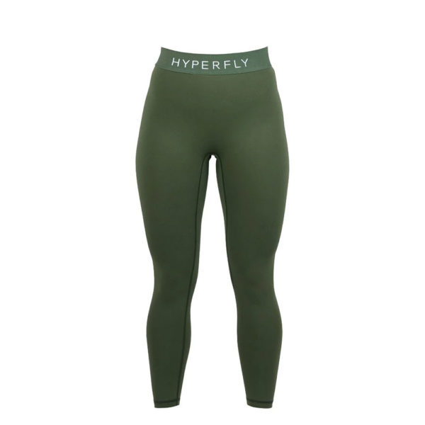 hyperfly flygirl athletic tights olive 2