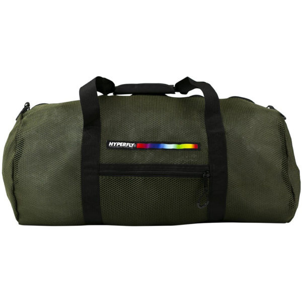 hyperfly foam mesh gear bag olive 1