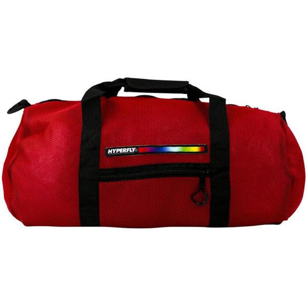 hyperfly foam mesh gear bag red 1