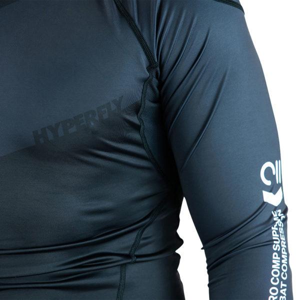 hyperfly rashguard procomp supreme long sleeve black 10