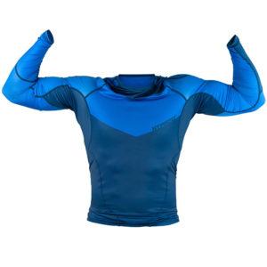 hyperfly rashguard procomp supreme long sleeve blue 2