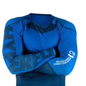 hyperfly rashguard procomp supreme long sleeve blue 7