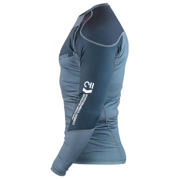 hyperfly rashguard procomp supreme long sleeve grey 3