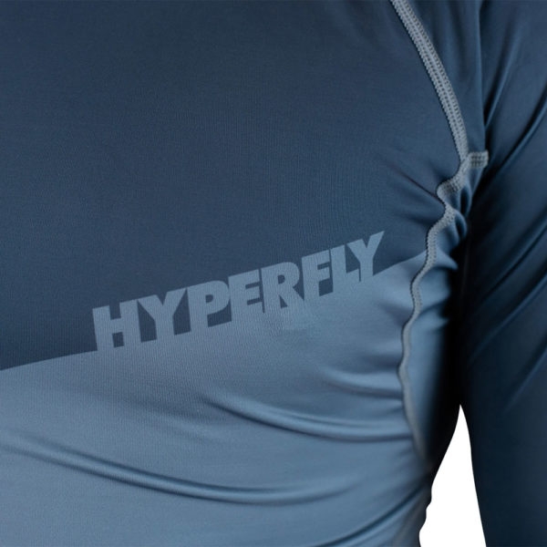 hyperfly rashguard procomp supreme long sleeve grey 7