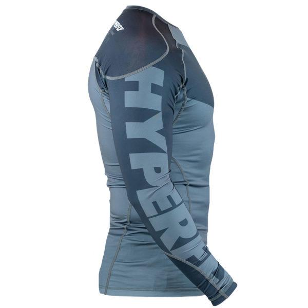 hyperfly rashguard procomp supreme long sleeve grey 9